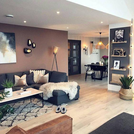 thiết kế phòng khách và bếp liền nhau 2