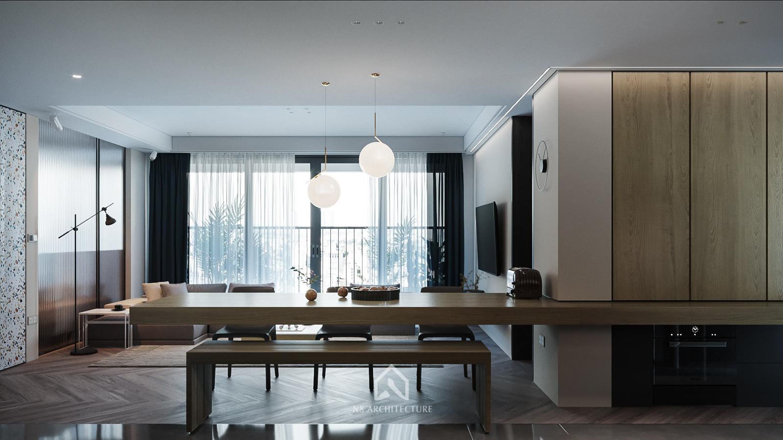 thiết kế nội thất chung cư D Capitale 3