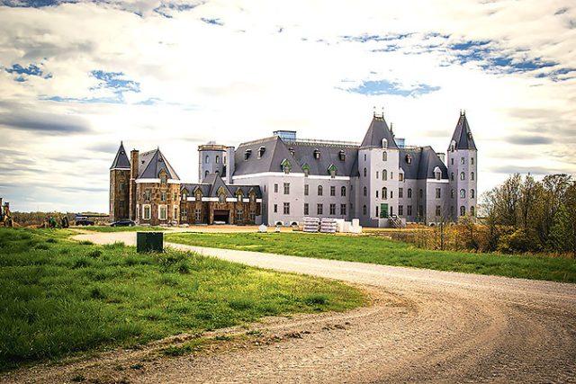 top 7 biệt thự lớn nhất thế giới Pensmore Mansion 2