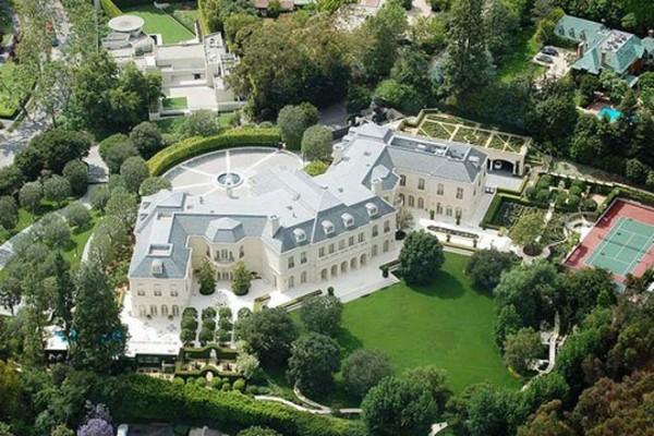 toàn cảnh trên cao biệt thự the manor 2
