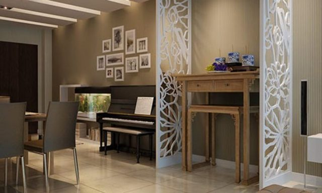 bố trí phòng khách có bàn thờ