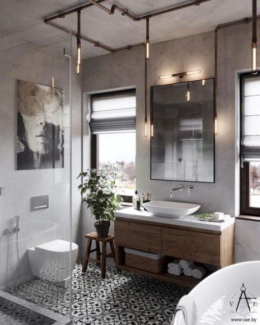 mẫu nhà vệ sinh đơn giản