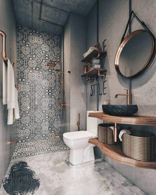 mẫu nhà vệ sinh đơn giản 2