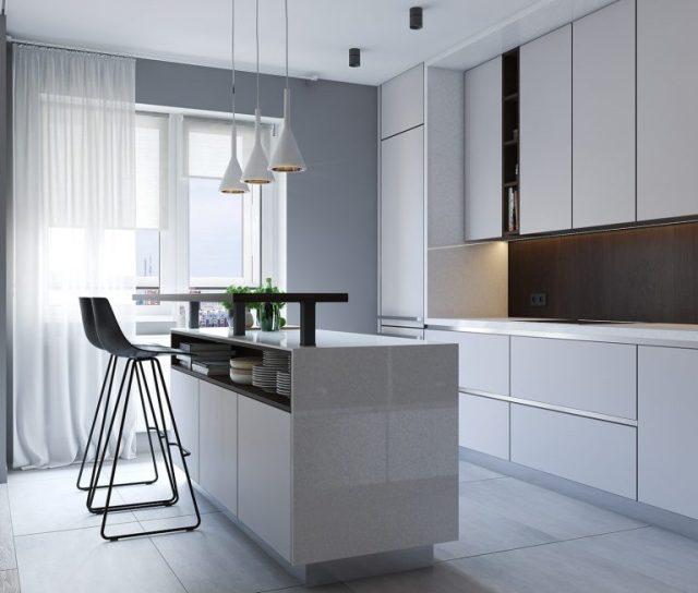 thiết kế nhà chung cư hiện đại