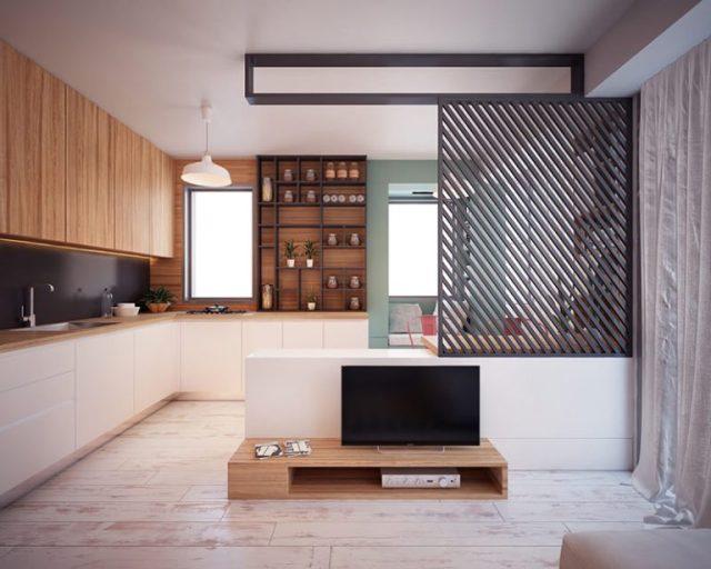 Mẫu thiết kế nội thất chung cư diện tích nhỏ số 11