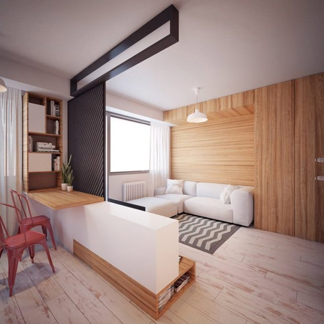 Mẫu thiết kế nội thất chung cư diện tích nhỏ số 12