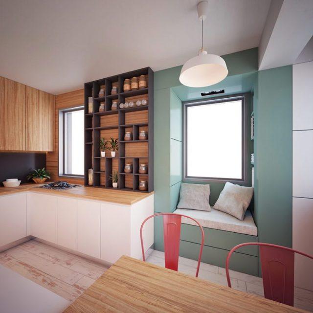 Mẫu thiết kế nội thất chung cư diện tích nhỏ số 13