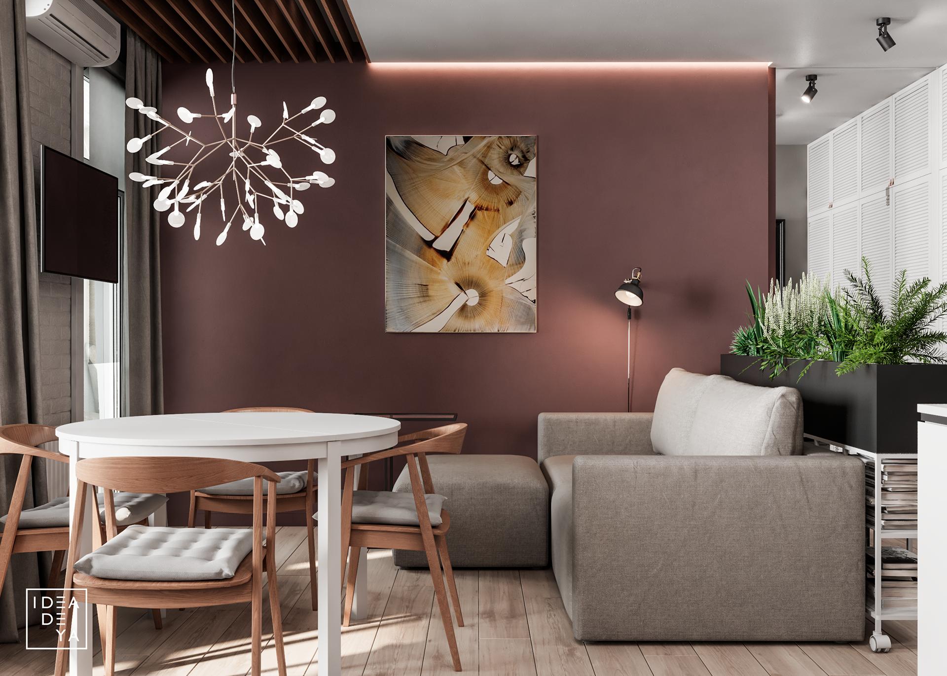 Với những gia đình có không gian ở khá khiêm tốn thì việc thiết kế nội thất chung cư là một bài toán không dễ dàng
