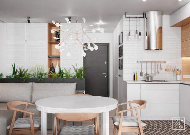 thiết kế bếp chung cư nhỏ