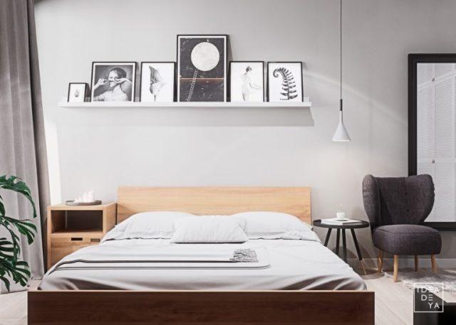 thiết kế phòng ngủ chung cư có diện tích nhỏ