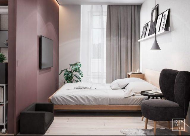 thiết kế phòng ngủ chung cư diện tích nhỏ
