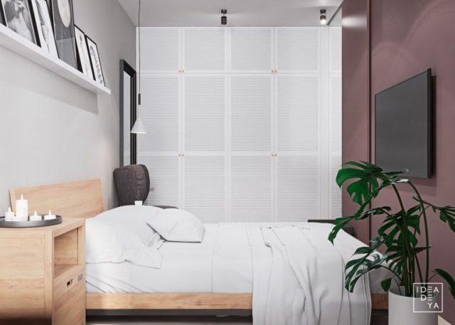 phòng ngủ chung cư có diện tích nhỏ