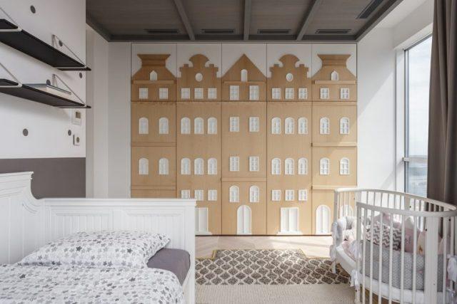 phòng ngủ con chung cư hiện đại 2