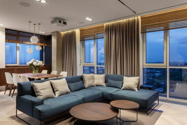 phòng khách chung cư hiện đại 1