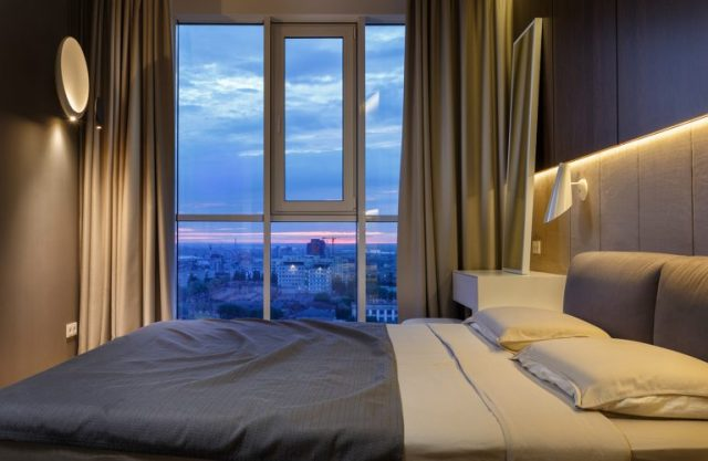 phòng ngủ chung cư hiện đại