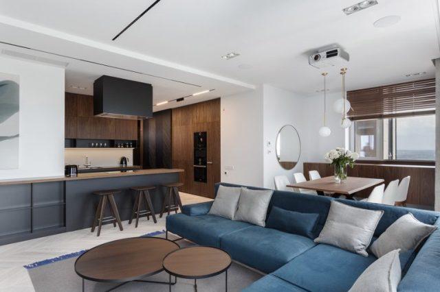 thiết kế nội thất chung cư hiện đại 3