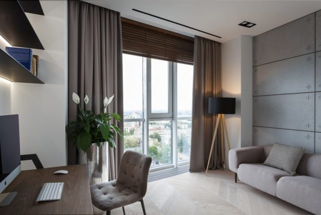 thiết kế nội thất phòng khách chung cư hiện đại 3