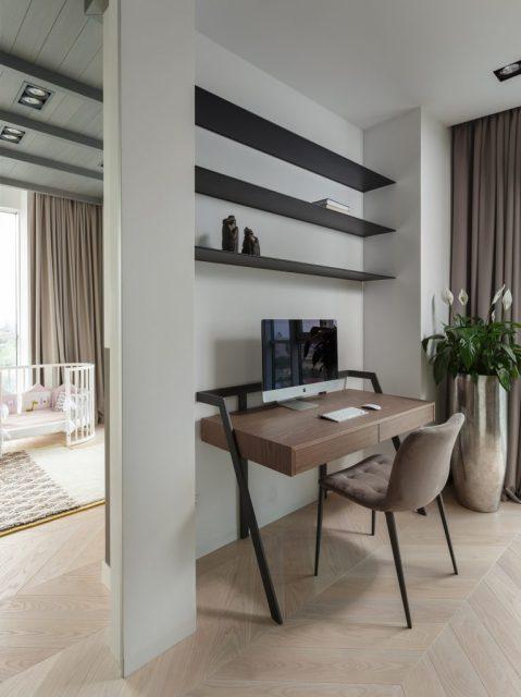 nội thất phòng sinh hoạt chung chung cư hiện đại 2