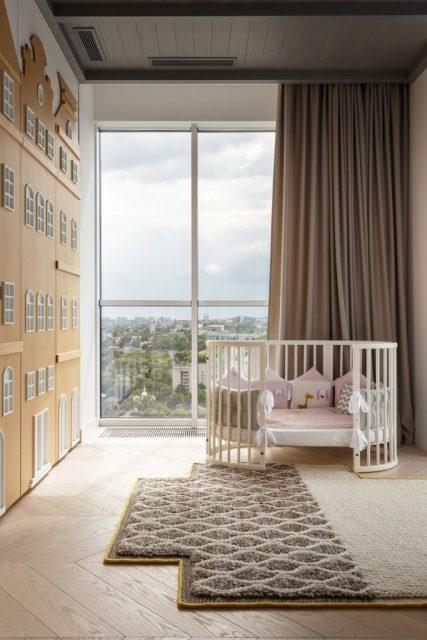 phòng ngủ con chung cư hiện đại 1