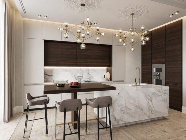 thiết kế nội thất chung cư tân cổ điển