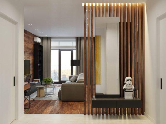 thiết kế sảnh chung cư 2 phòng ngủ