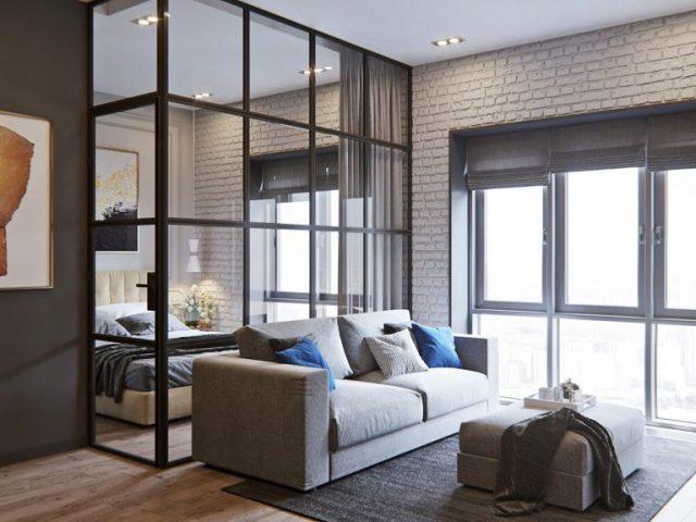 mẫu thiết kế nội thất chung cư nhỏ 2