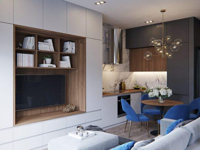 mẫu thiết kế nội thất chung cư nhỏ 3