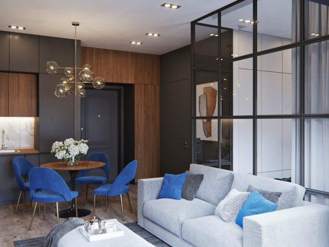 mẫu thiết kế nội thất chung cư nhỏ 5