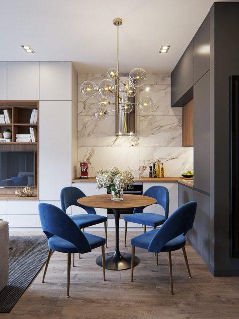 mẫu thiết kế nội thất chung cư nhỏ 6