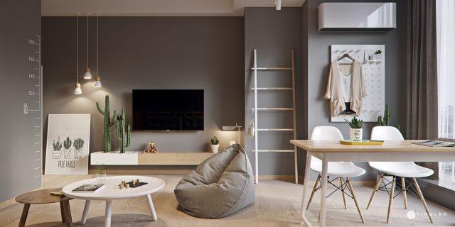 Thiết kế căn hộ chung cư nhỏ đẹp