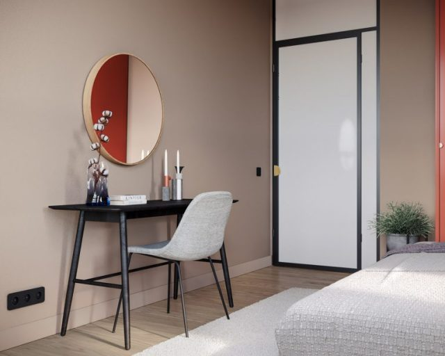 thiết kế nội thất chung cư 2 phòng ngủ 6