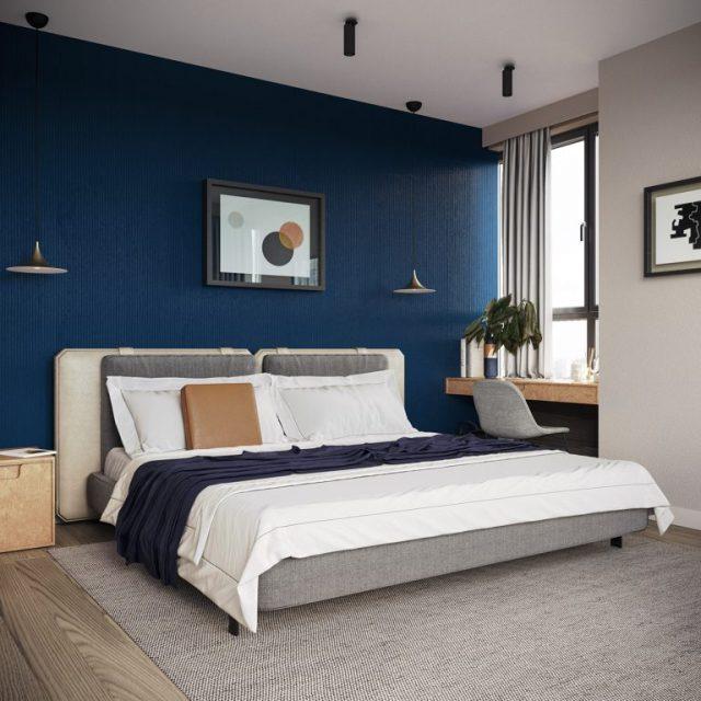 thiết kế nội thất chung cư 2 phòng ngủ 2