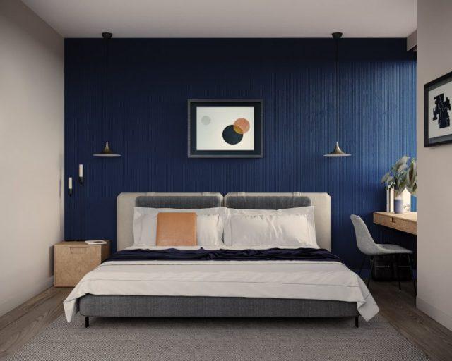thiết kế nội thất chung cư 2 phòng ngủ 3