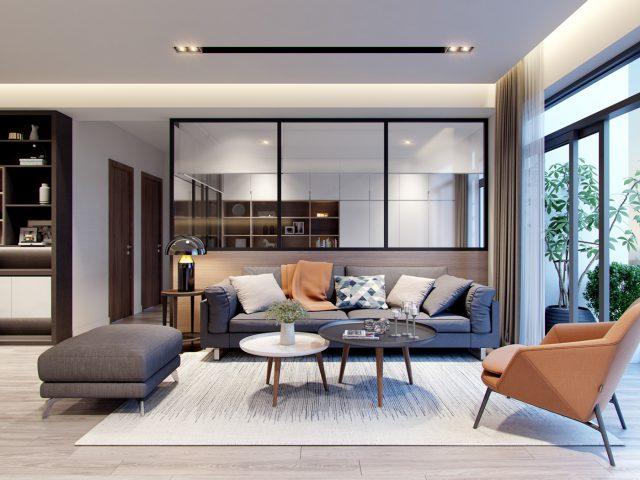 mẫu thiết kế nội thất chung cư đẹp 23