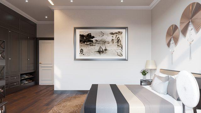 phòng ngủ chung cư đẹp 4