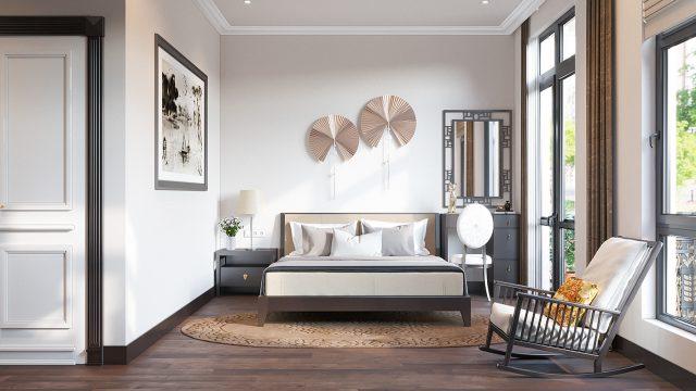 phòng ngủ chung cư đẹp 3