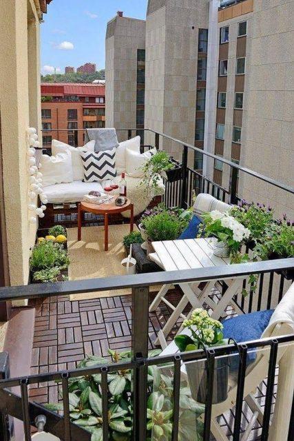 thiết kế ban công chung cư đẹp 7
