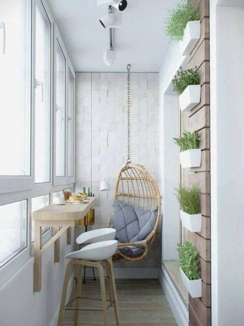 thiết kế ban công chung cư đẹp 9