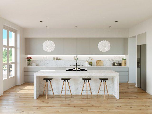 thiết kế bếp cho chung cư