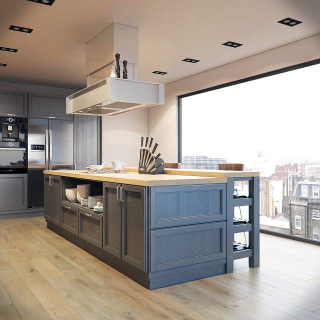 thiết kế bếp cho nhà chung cư 2