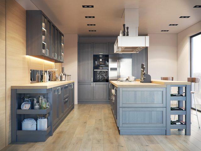 thiết kế bếp cho nhà chung cư 4