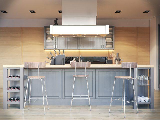 thiết kế bếp cho nhà chung cư 5