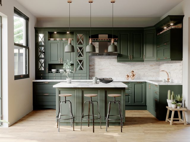 thiết kế bếp cho nhà chung cư