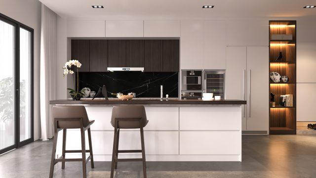 thiết kế bếp chung cư 5