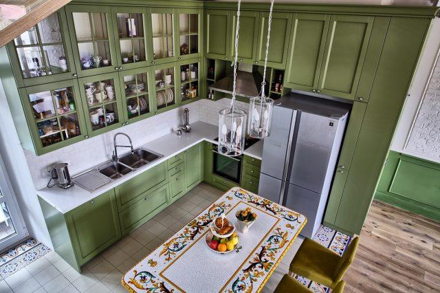 thiết kế bếp chung cư 7