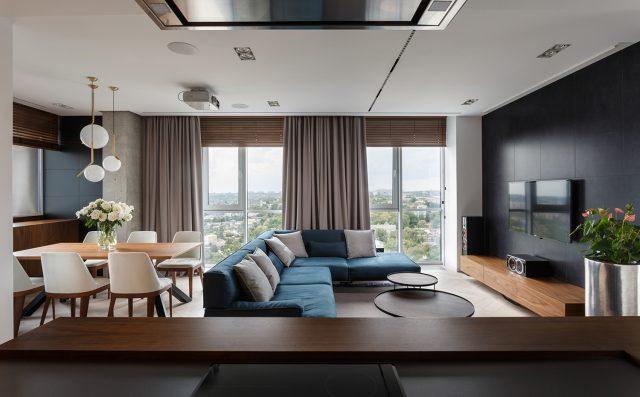 thiết kế nội thất chung cư hiện đại 1