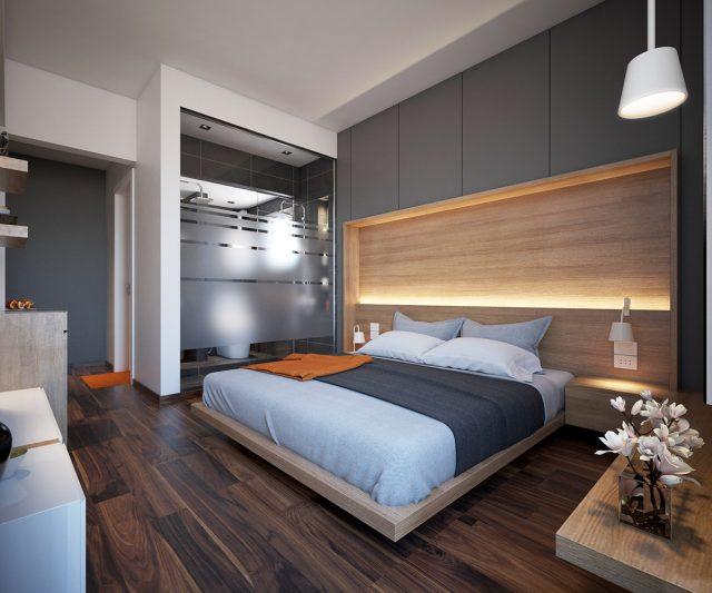 thiết kế nội thất phòng ngủ chung cư 2