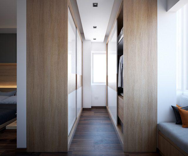 thiết kế nội thất phòng ngủ chung cư 5