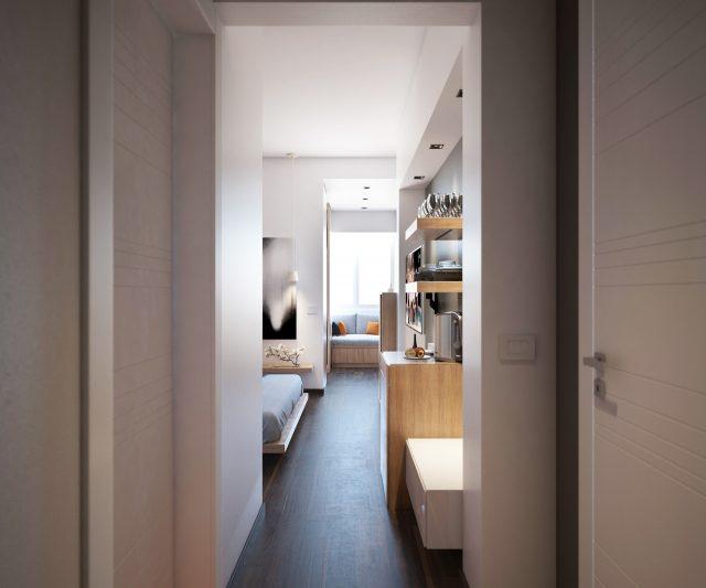 thiết kế nội thất phòng ngủ chung cư 6