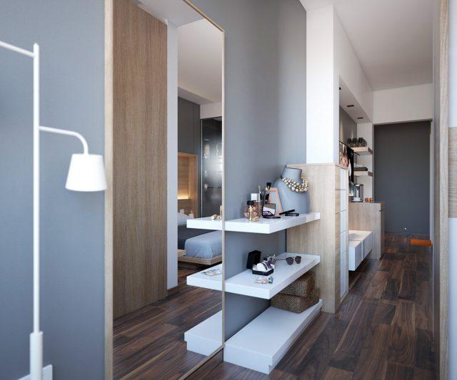 thiết kế nội thất phòng ngủ chung cư 7